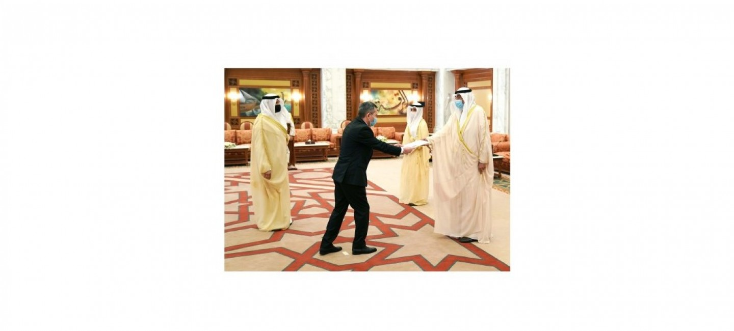 AMBASSADOR OF TURKMENISTAN PRESENTED CREDENTIALS TO THE PRIME MINISTER OF THE STATE OF KUWAIT