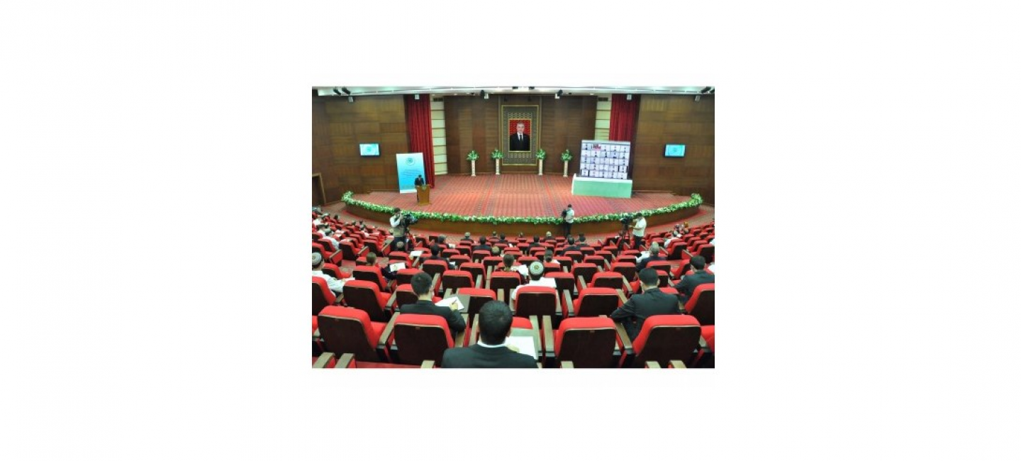 A CONFERENCE DEDICATED TO THE TASKS ARISING FROM THE COMMON LESSON OF THE PRESIDENT OF TURKMENISTAN WITH THE TURKMEN YOUTH WAS HELD AT THE IIR OF THE MFA OF TURKMENISTAN